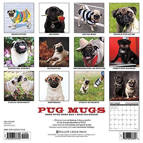 pug calendar 2016 pugs dogbreed gifts pug calendars