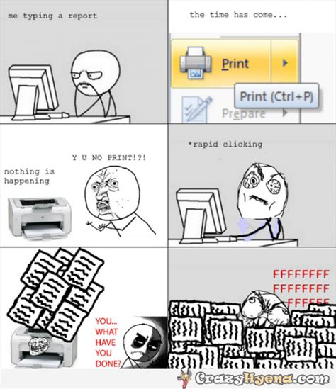 Typing Meme - meme trying to print