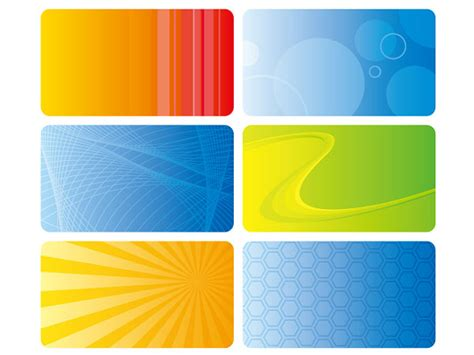 colorful card background design elements free vector in best card background design elements vector background