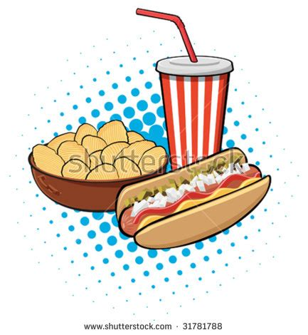 hot chips clipart cartoon hot dog stock images royalty free images