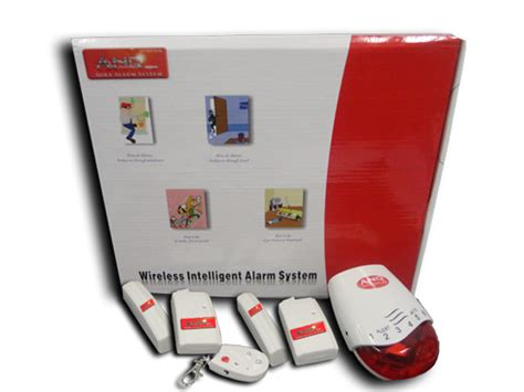 Bateri Alarm Rumah sistem alarm keselamatan rumah tanpa wayar
