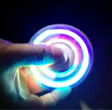 Fidget Spinner Led Transparan Toys Quality Spinner Murah awesome led light up fidget spinner for autism adhd adhd