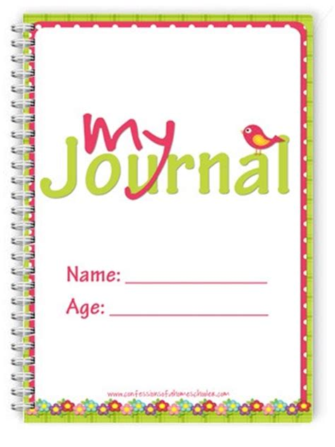 printable summer journal pages 5 best images of printable summer journal cover free
