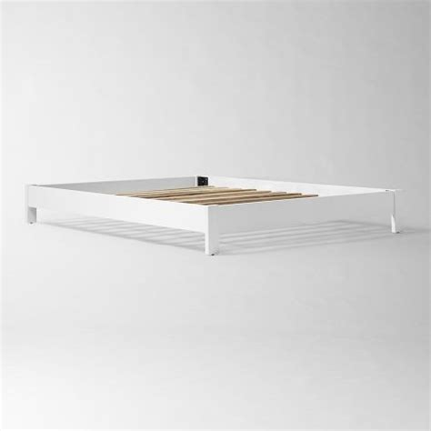 West Elm Simple Low Bed Frame Simple Low Bed Frame