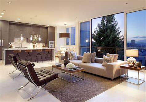 arredamento moderno soggiorno cucina decorazioni per la casa
