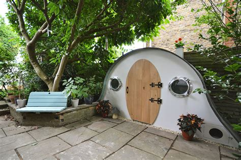 Hobbit House Shed by Shedworking Hobbit House Shed