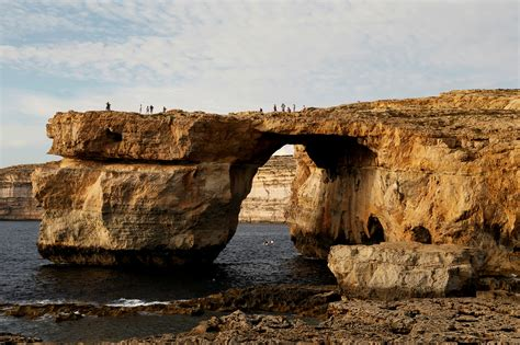 azure window malta s famous azure window has collapsed into the sea
