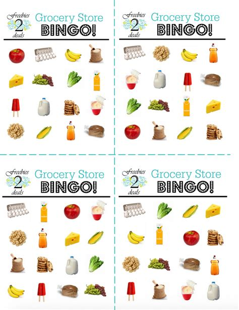 fun printable card games woo hoo free grocery bingo printable game cards for your