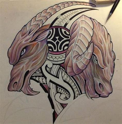 tatouages dessin moderne polynesien maori minotaure