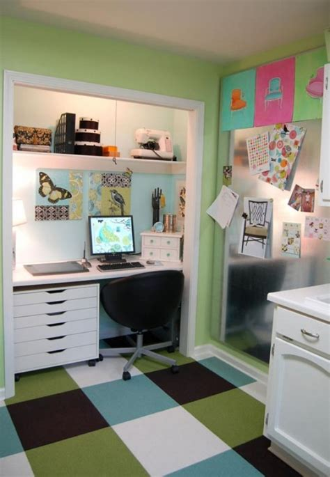 Office Desk In Closet 15 Closets Turned Into Space Saving Office Nooks
