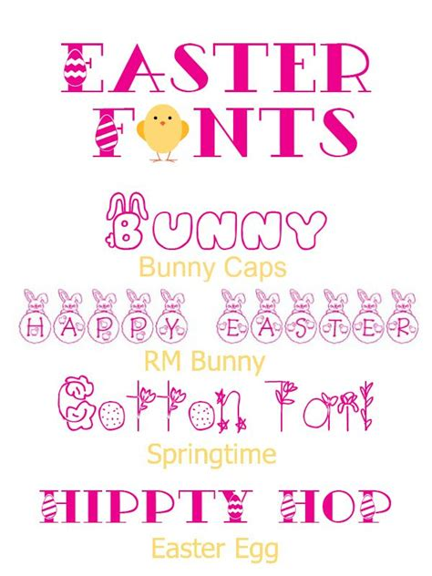 printable easter fonts 41 beste afbeeldingen over fonts titles spring easter