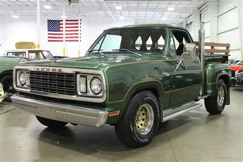 Green Metallic 1978 Dodge Warlock For Sale   MCG Marketplace
