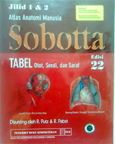 Buku Atlas Anatomi Sobotta blogberry emry disember 2008