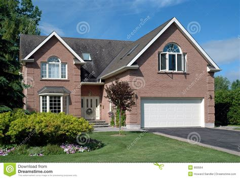 Housedesigners by Contemporary Suburban House Stock Images Image 900564