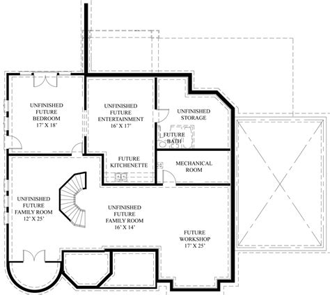 floor plan magazines european house plan with two master suites
