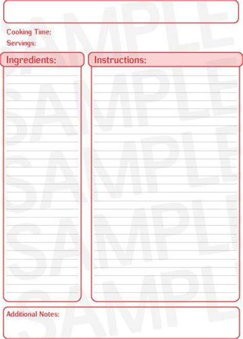 recipe layout template 25 best ideas about recipe templates on