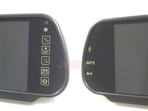 Mirror Quality 7 7 inch rearview mirror monitor with usb sd mp5 j well industrial co ltd