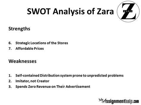 Zara Swot Zara Swot Analysis - zara study zara study analysis zara