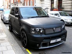 matte black range rover sport hse by revere that s no car flickr
