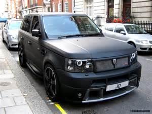 matte black range rover sport hse by revere that s no