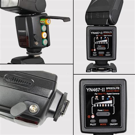 Yongnuo Yn 467 yongnuo flash unit speedlite yn 467 ii yn467 ii for nikon