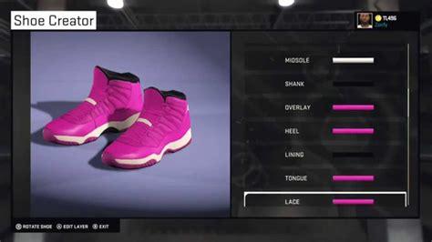 shoe creator nba 2k15 shoe creator air 11 custom quot pink