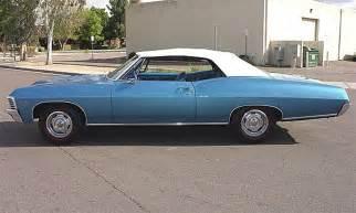 1967 chevrolet impala ss 427 convertible 15863