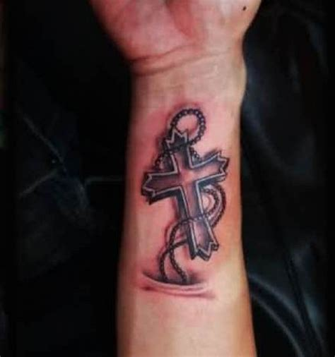 3d tattoos on wrist 3d cross tattoos page 3 truetattoos