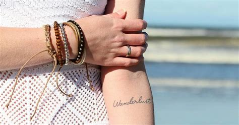 tiny travel tattoos popsugar smart living