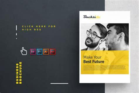 A4 Brochure Template Illustrator Free