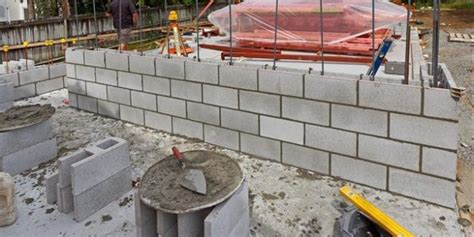 properties of materials for reinforced concrete masonry walls