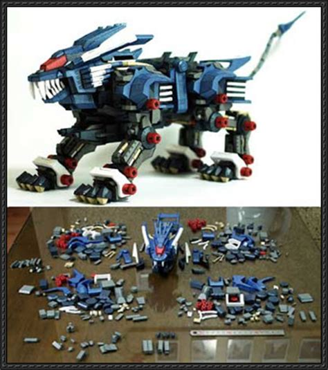 Zoid Papercraft - papercraftsquare new paper craft zoids