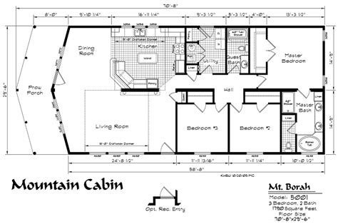 mountain cabin model floor plan kit homebuilders west