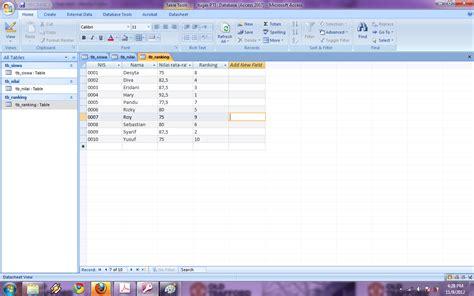 membuat database relasional fedry oulian mirda
