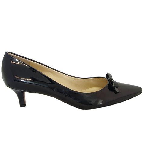 kitten heel shoes kaiser rosa navy patent leather kitten heel shoes