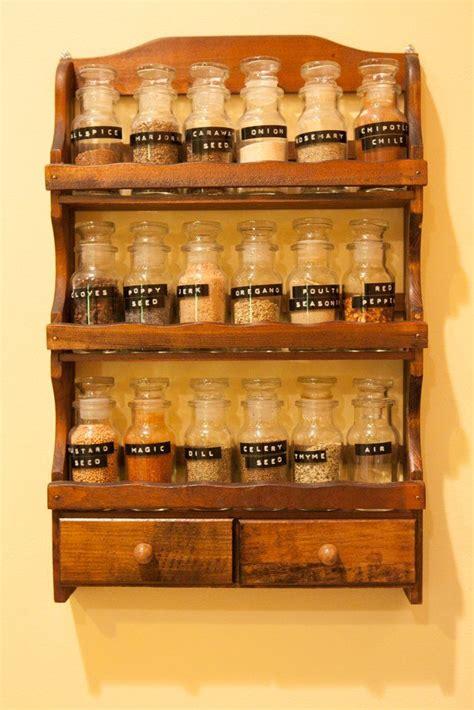 Spice Rack Labels by Spice Rack School Labels Kitchen Envy