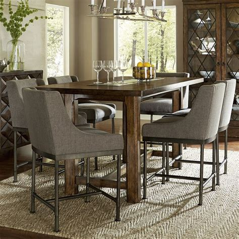 countertop dining room sets counter height tables