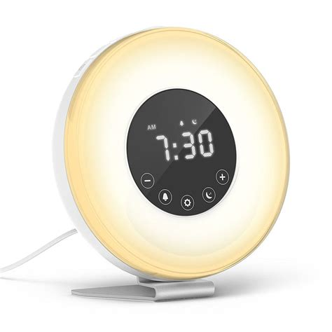 Daylight Alarm Clock by 5 Of The Highest Clocks On Huffpost