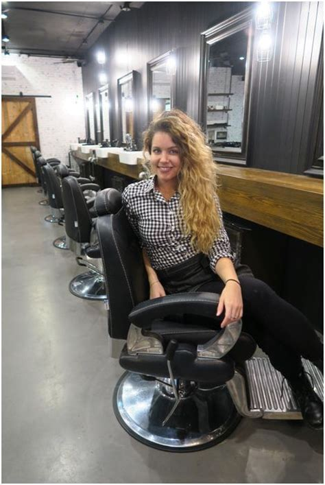 getting her barbered 191 best images about lady hairdressers on pinterest