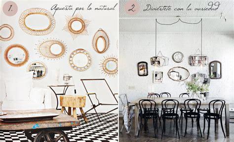 decorar paredes salon con espejos decorar con espejos decoraci 243 n de pared