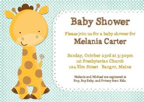 baby shower invitation jungle animal by photogreetings on etsy
