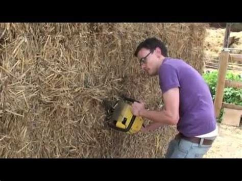 build  shed  straw bales youtube