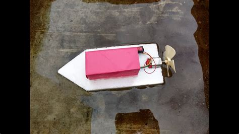 how to make a paper boat motor how to make a homemade toy motor boat simple easy youtube