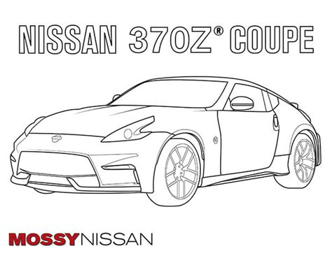 nissan cars coloring pages nissan coloring pages coloring free car coloring pages for adults and kids mossy nissan