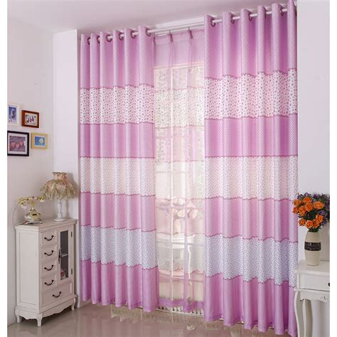 Pink And White Striped Curtains Pink Striped Curtains Sold Individually Light Pink Stripe Faux Silk Taffeta Curtain Panel