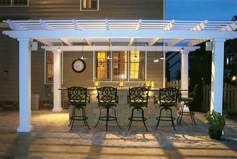 Outdoor Kitchen Lighting Ideas Outdoor Kitchen At