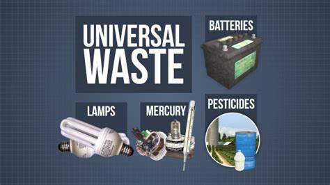 universal waste storage and handling convergence