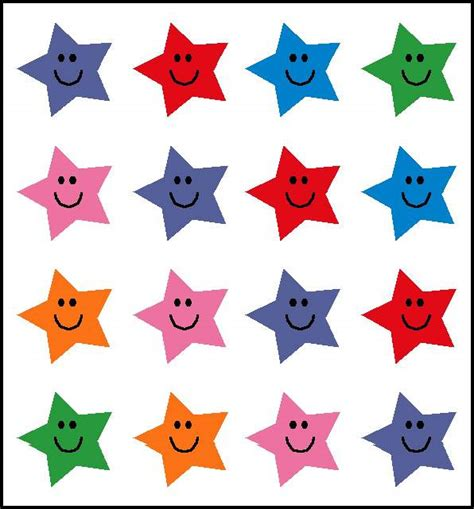 printable star stickers image gallery star stickers