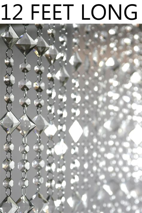 crystal beads curtain crystal beaded curtain 3 x 12 shopwildthings com