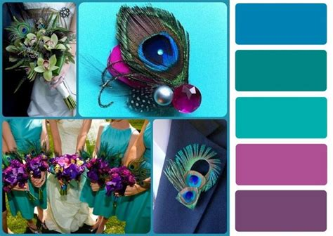 peacock wedding colors best 25 peacock color scheme ideas on peacock